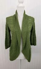A Knitch Above Spring Green Knit Cardigan Sweater M