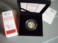 BLACK BOX BENJAMIN BUNNY SILVER PROOF 50p Ltd EDITION 1000 ROYAL MINT