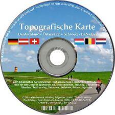 Garmin DACH Topo Deutschland Österreich Schweiz NEU Karte DVD Navi D A CH