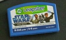 LeapFrog LEAPSTER  Learning Game System Cartridge STAR WARS JEDI MATH