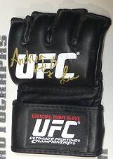 Andrea KGB Lee Signed Official UFC Fight Glove BAS Beckett COA Invicta Autograph