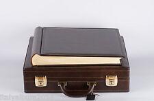 album fotografico e valigetta  in similpelle 40x40 60 pagine avorio x matrimonio