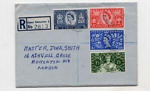 GB QEII 3rd June 1953 First Day Cover Coronation London postmark