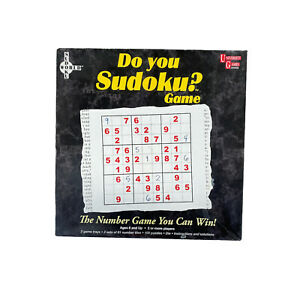 Do You Sudoku? 100 Puzzles Number Card by University Games 2005 INCOMPLETE
