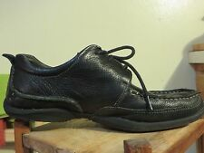 Hush Puppies Mens Leather Casual Oxfords Shoes H103342 Size Us 7.5