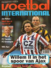 V.I. 1995 nr. 39 - JACK DE GIER & WILLEM II/JERRY DE JONG/CARLOS FORTES