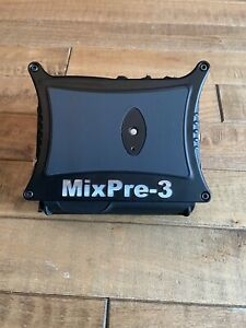 MixPre-3 Sound Devices Audio RecorderWith 32 GB SD Card And Cables