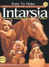 Easy to Make Inlay Wood Projects--Intarsia: A Complete Manual with Patterns (Pap