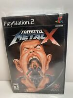 Freestyle Metal X Playstation 2 PS2 Black Label Brand New Factory Sealed