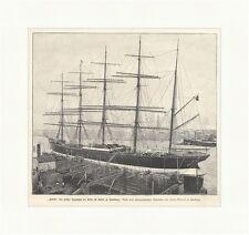 Potosi, das größte Segelschiff der Welt im Hafen zu Hamburg See  E 2971