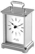 Jean Louis Chrome-Plated Quartz Movement Carriage Clock (1445)