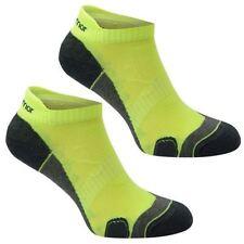 Karrimor Mens Yellow Fluo Dri Running Trainer Socks Socklets UK Sz 7-11