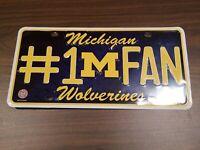Michigan Wolverines License Plate #1 Fan