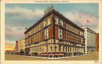 Indianapolis, INDIANA - Claypool Hotel - ARCHITECTURE