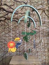 Childrens Safari Animals Wooden Mobile Hanger Gift Gisela Graham