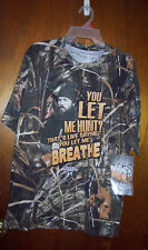 DUCK DYNASTY CAMO T SHIRT SIZE L NEW FREE S/H NWT