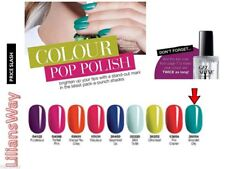 AVON Gel SHINE Nail Enamel/ Top Coat~ NEW Shade ~ Emerald city-More SHINE~RRP £7