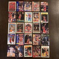 MICHAEL JORDAN ASSORTED NBA CARDS LOT (25x) ALL DIFFERENT LOT. NO DUPLICATES!