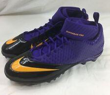 Nike Lunarlon Superbad Pro Td Football Cleats Rare Purple 534994-518 Size 17