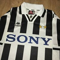 Juventus 1995 1996 1997 vintage Kappa home shirt size L - Excellent condition