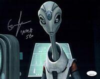 GWENDOLINE YEO Star Wars Clone Wars Signed 8x10 NALA SE Photo JSA COA