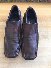 Aldo men's size 43/10 leather slip on classy shoe