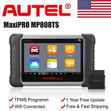 US Autel MaxiPRO MP808TS OBD2 Car Diagnostic Scanner Tool SAS TPMS As MS906 BT