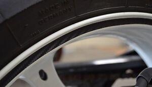 Carbon Fiber Rim Tape Wheel Sticker Motorcycle Bike Car Decal 10mm X 6 Meters