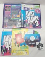 Just Dance 3 Xbox 360 TESTED DISC CIB COMPLETE FAST TRACKED SAFE SHIPPING