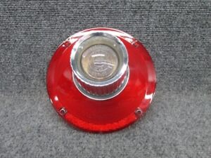 1964 Ford Galaxie Tail Light Lamp Lens with Backup Lens - NORS #1