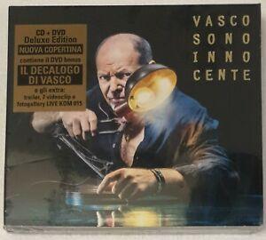 VASCO ROSSI SONO INNOCENTE DELUXE EDITION CD+DVD NUOVO SIGILLATO
