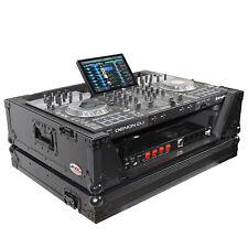 ProX XS-PRIME 4WBL2U Denon PRIME4 case W/2U Rack mount & wheels Black on Black
