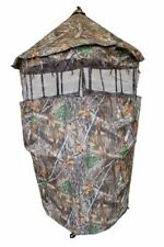 Cooper Hunting Cb5119 Chameleon RealTree Camo Mesh Gun Blind with Carrying Bag