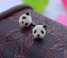 New Beautiful Betsey Johnson Hot selling cute panda head animal earrings