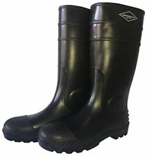 Diamondback L-g06b9 Knee Boot, Pvc, Matte Black, 9