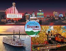 Missouri - BRANSON - Travel Souvenir Fridge MAGNET