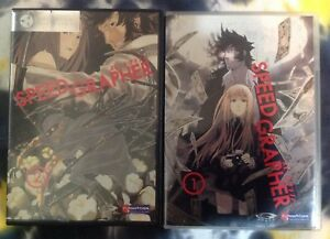 SPEED GRAPHER vol 1 & 2 anime DVD - Funimation (ep 1-8)