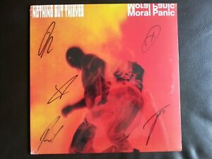 Nothing But Thieves - Moral Panic - Transparent Vinyl LP - Signed Edition....New