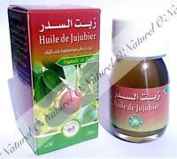 Huile de Sidr (Huile de Jujubier) 100% Pure & Naturelle 30ml Sidr Oil
