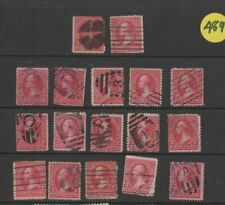 Usa Used Stamps 19th century Triangle Selection 14 0519
