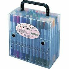 kuretake-stationery-Calligraphy pen ZIG Clean Color II TC-6600/ 60V 60set