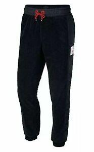 Nike Jordan Men's Size 3XL Wings Of Flight Fleece Sherpa Jogger Pant Black