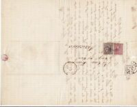 Spain 19th centuary stamps cover Ref 8361
