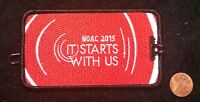 ORDER OF THE ARROW BSA NOAC 2015 OA 100TH CENTENNIAL PATCH LUGGAGE NAME TAG MINT