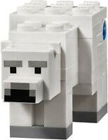 Lego White Polar Bear 21142 Minecraft Animal Figure Minifigure