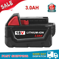3.0Ah 18V For Milwaukee M18 48-11-1820 48-11-1828 Lithium Power Compact Battery