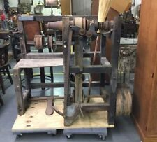 Antique Broom Winding Making Machine - East Texas - Nice!