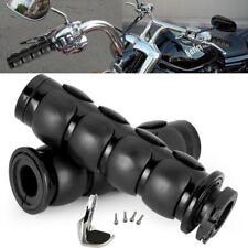 "1pc Black 1"" Hand Grips Throttle Boss Fit Harley Davidson V-Rod Night Street"