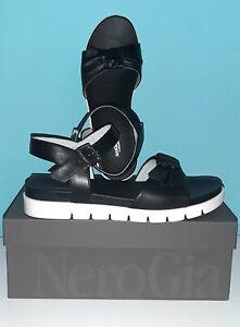 36,5 37 41  Leder NEU 175€ NEU 350D Luxus Designer NERO GIARDINI Stiefel Gr