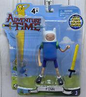 """Finn Adventure Time Action Figure Golden Sword Complete 5"""" Jazwares 14211 NIP"""